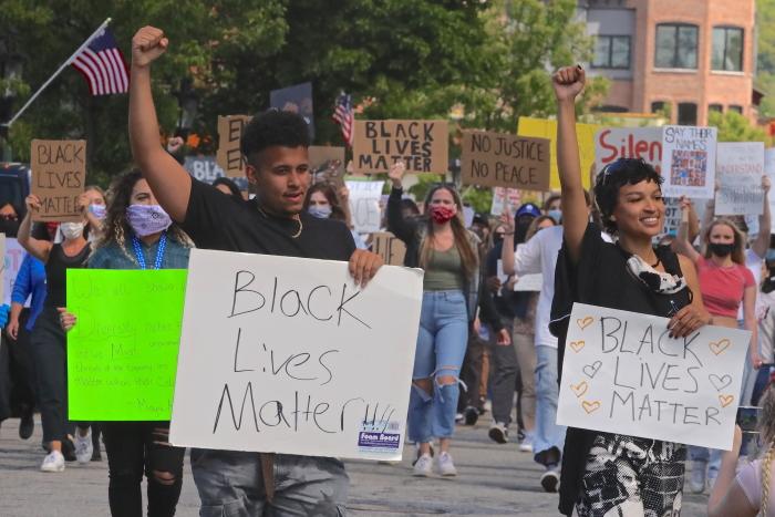 Beacon protest