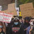 Residents Rally Against Brutality