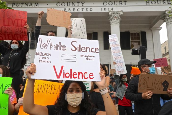 Carmel protest