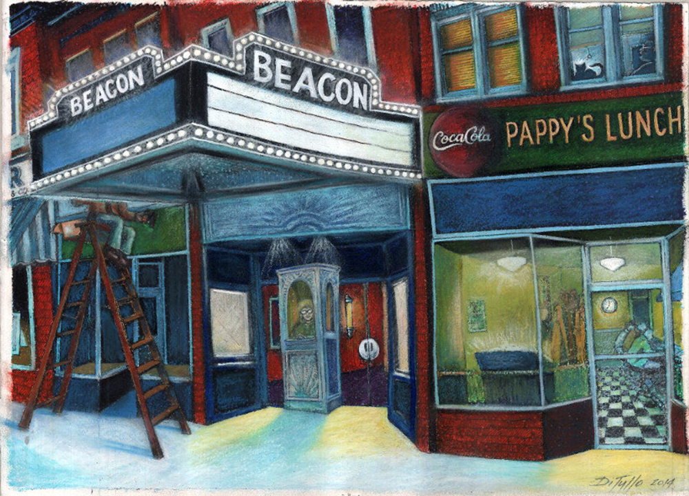 """""""Beacon Theater (with self-portrait)"""""""