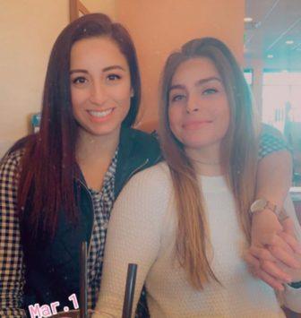 Stephanie Mayorga and Paige Escalera