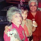 Carla Goldberg and grandparents