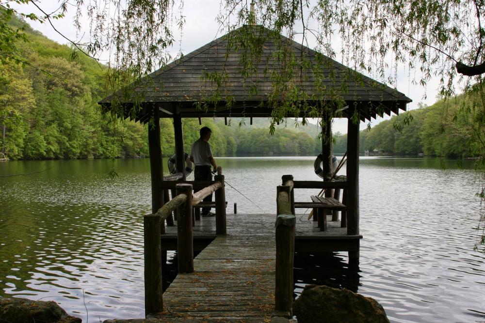 fishing at lake valhalla