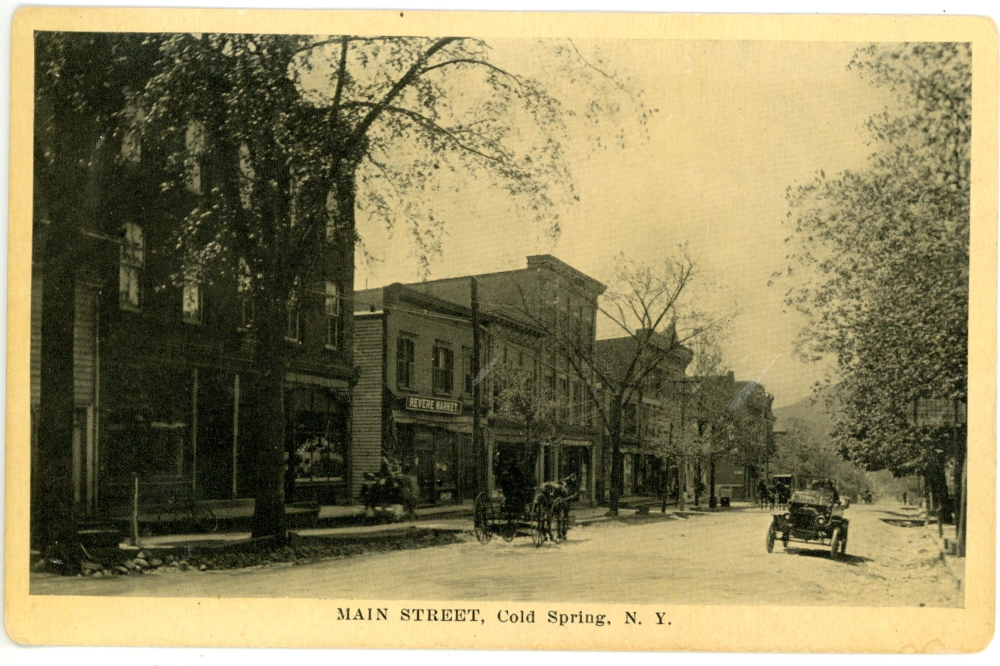 Main Street in Cold Spring around 1915