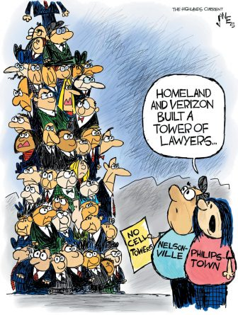Cell tower of lawyers