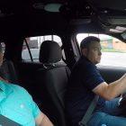cops in car