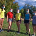 Haldane girls XC team