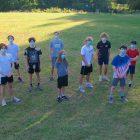 Haldane boys XC team