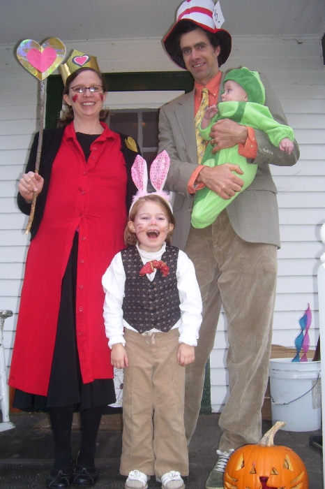 Halloween 2010 Wonderland characters
