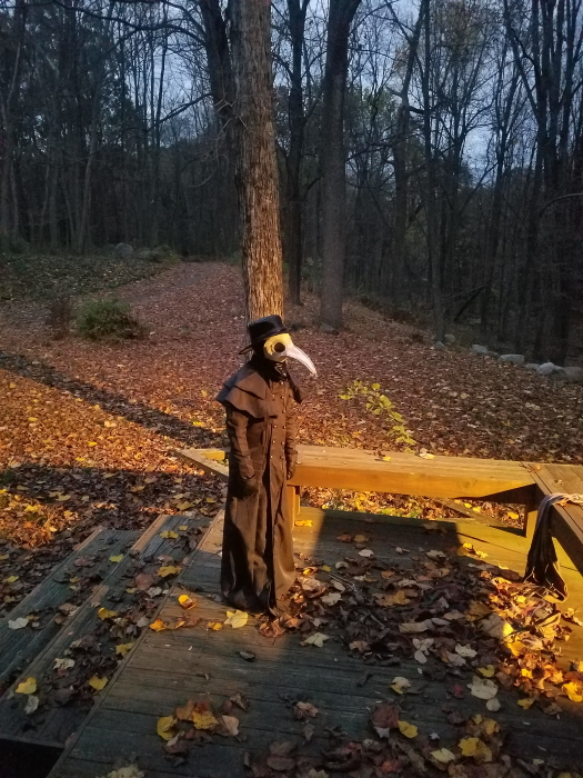 Will Muller as the Plague Doctor