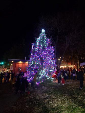 Beacon Tree Lighting