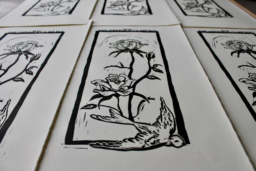 Linoleum Print