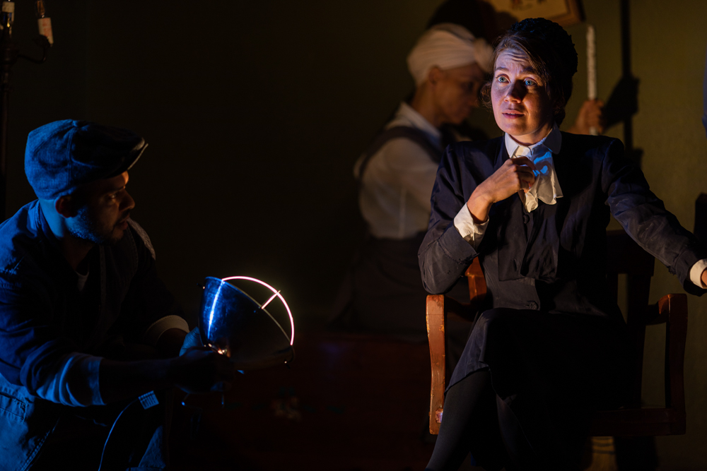 "Eliza Fichter in ""The Crucible"""