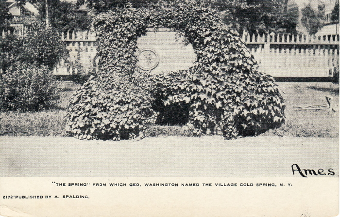 1895 The Spring - Washington - Cold Spring