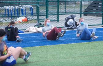 Haldane track and field athletes