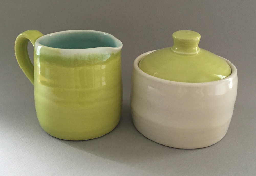 Virginia Piazza's ceramic tableware