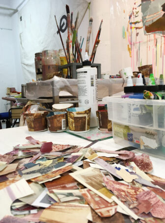 fragments in studio