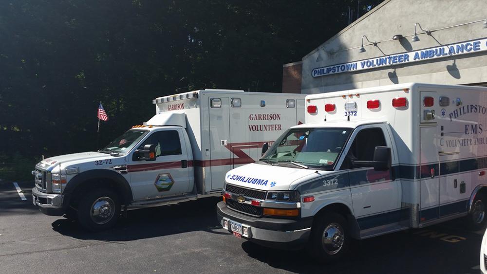 garrison and philipstown ambulances