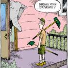 shovel your driveway
