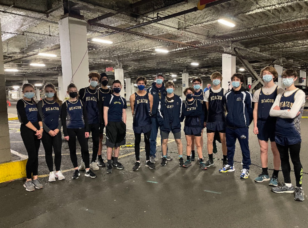 Beacon indoor track team