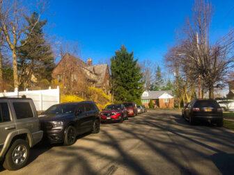 Park Hill in Yonkers, a bluelined neighborhood