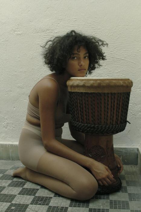 Joline and Her Drum