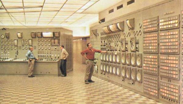 Indian Point control room