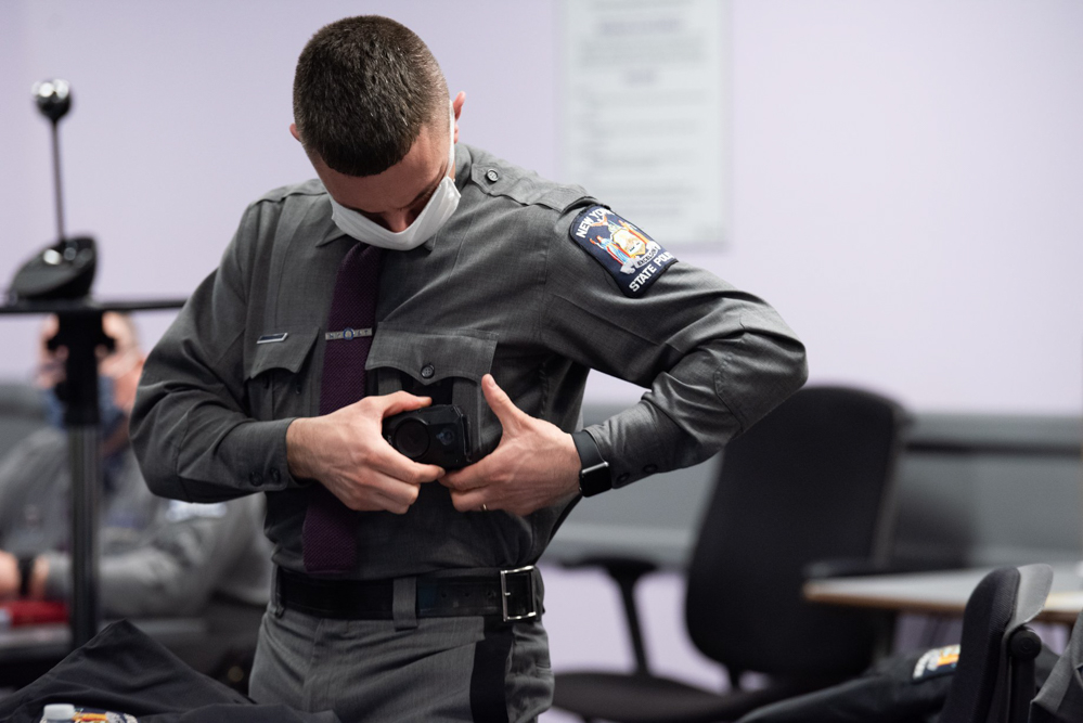 new york state police camera