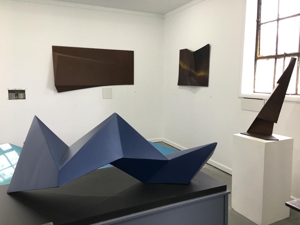 Inside Steinson's studio