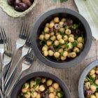 Chickpea and Black Olive Salad
