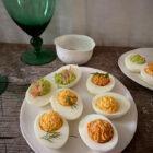 Tri-Color Deviled Eggs