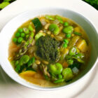 Spring Vegetable Stew with Herb Pistou