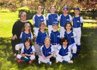 The Hudson Hawks softball team