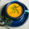 Carrot-Coconut Soup With a Thai Carrot-Tops Swirl
