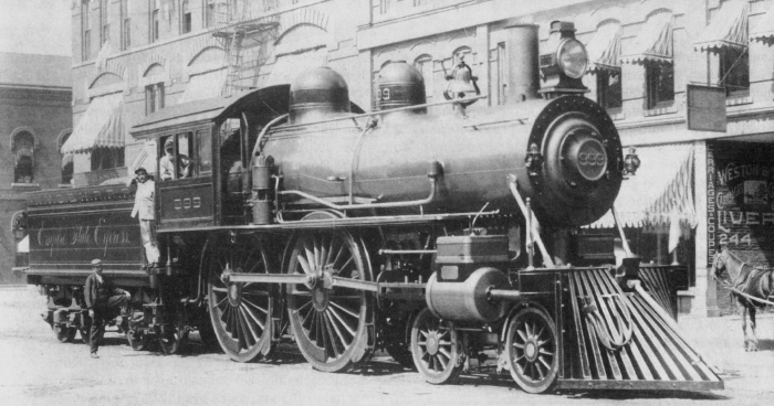 The Empire State Express Engine 999