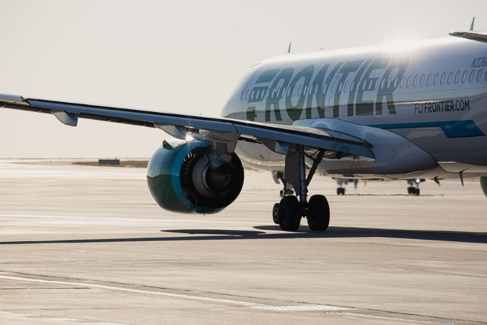 Frontier airplane