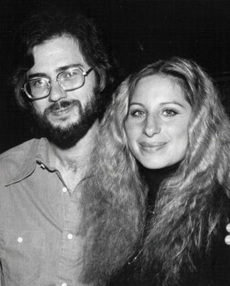 Holmes with Barbra Streisand