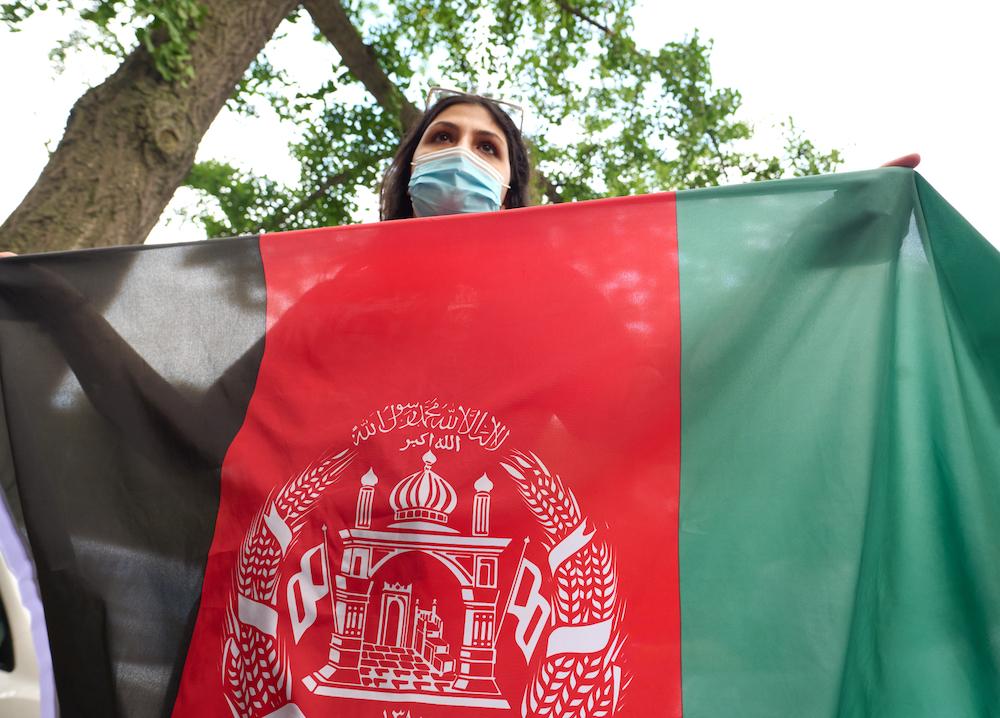 NYC Free Afghanistan rally