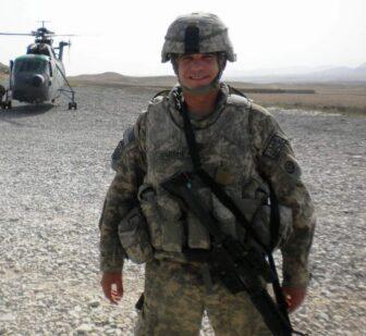 Ben Martinez in Afghanistan