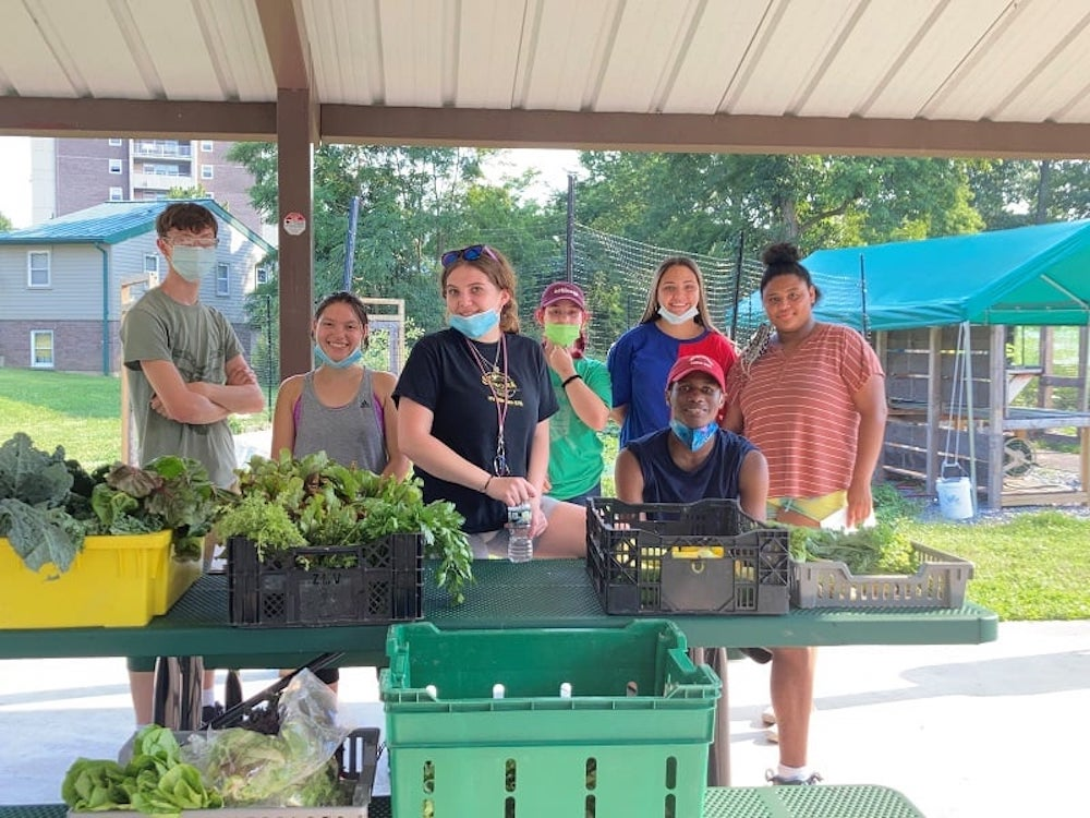 Green Teen Produce Stand, Sept. 1