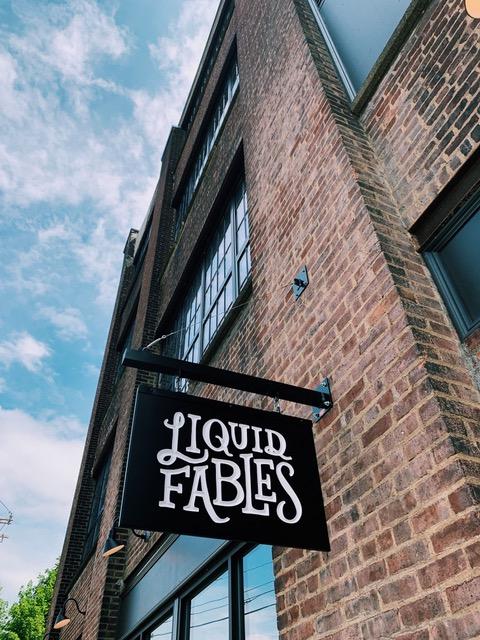 Liquid Fables sign