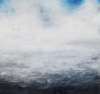 """North Atlantic Blue,"" by M'Liz Keefe"