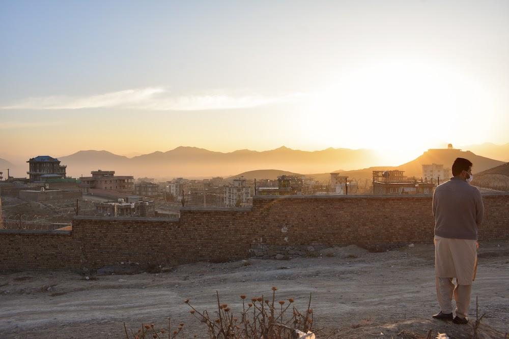 sunrise over Kabul