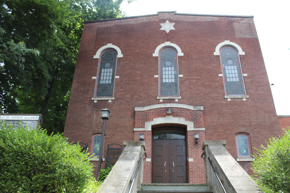 The Beacon Hebrew Alliance synagogue at 311 Verplanck Ave.
