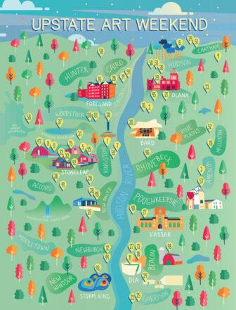 Upstate Art Map