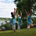 A performance at Arts on the Lake