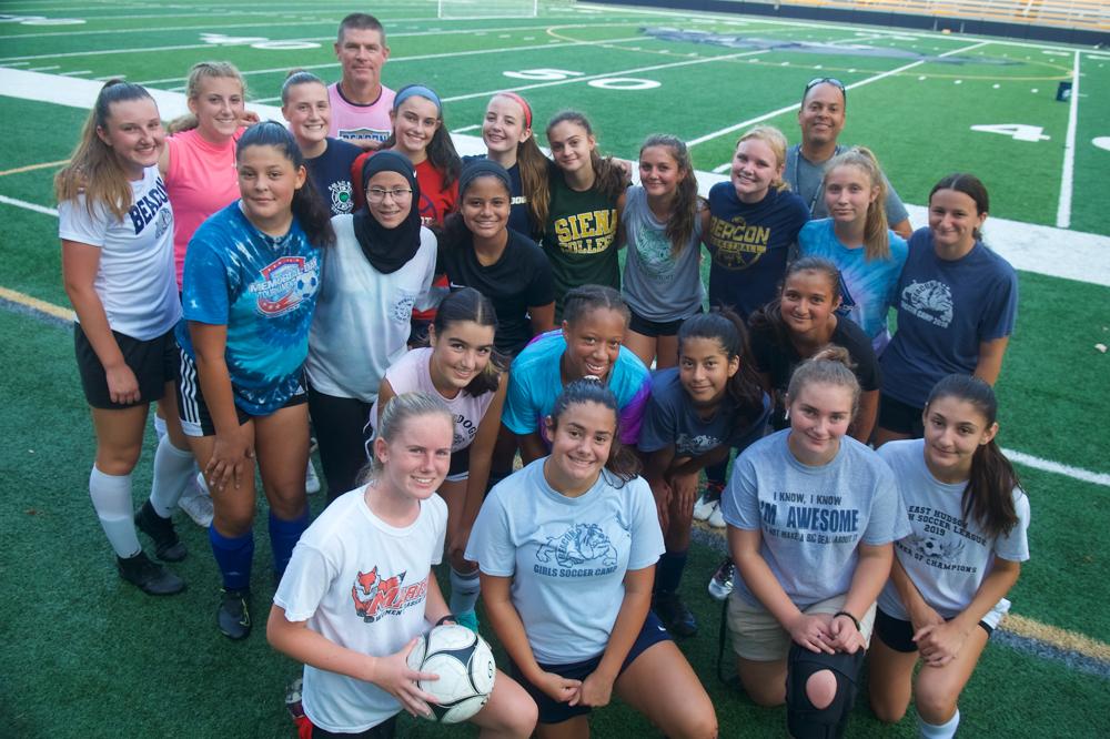 Beacon girls' soccer team