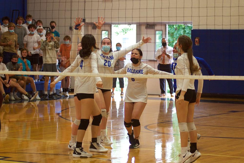 Haldane volleyballs