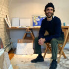 Daniel Loxton in his Cold Spring studio