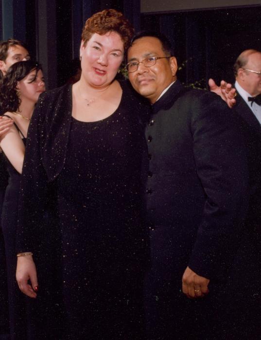 Nancy and Jupiter Yambem